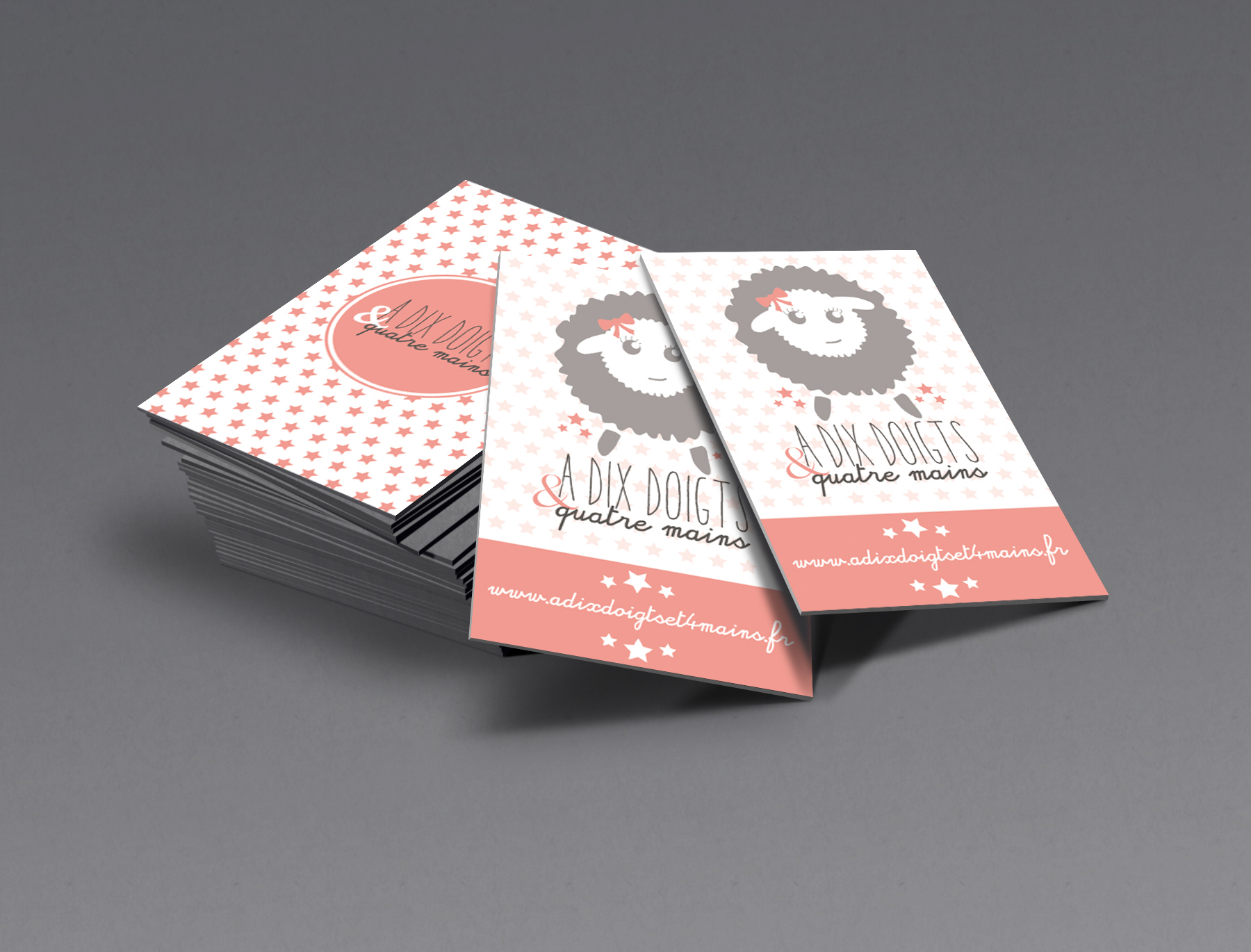 Carte Visite Supports Communication Montpellier Atelier Graphea Graphiste Creation Conseil